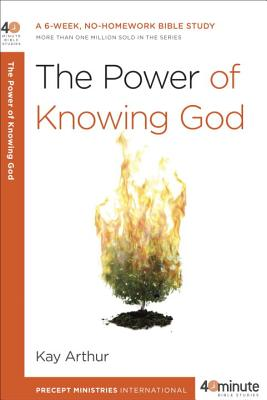The Power of Knowing God Cover