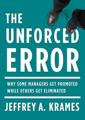 The Unforced Error Cover