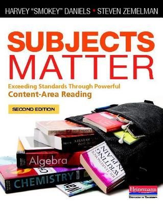 Subjects Matter: Exceeding Standards Through Powerful Content-Area Reading Cover Image