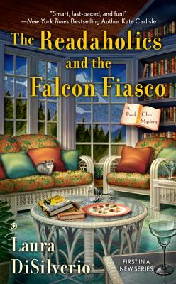 The Readaholics and the Falcon Fiasco (A Book Club Mystery #1) Cover Image