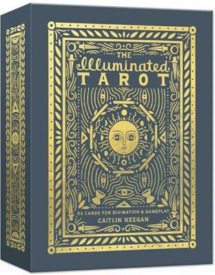The Illuminated Tarot: 53 Cards for Divination & Gameplay (The Illuminated Art Series) Cover Image
