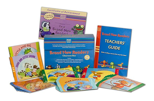 Cover for The Brand New Readers Classroom Box
