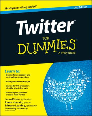 Twitter for Dummies Cover Image