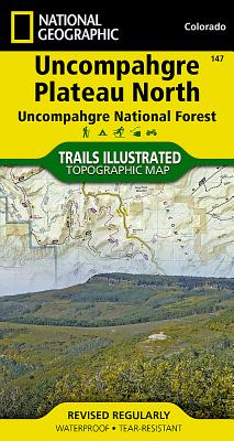 Uncompahgre Plateau North [Uncompahgre National Forest] (National Geographic Trails Illustrated Map #147) Cover Image
