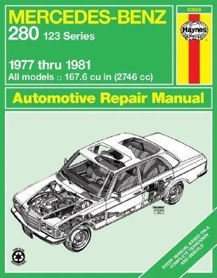 Mercedes-Benz 280, 1977-1981 (Haynes Manuals) Cover Image