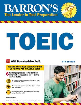 TOEIC: With Downloadable Audio (Barron's Test Prep) Cover Image