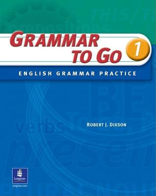Cover for Grammar to Go, Level 1