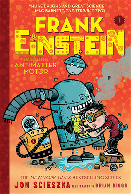 Frank Einstein and the Antimatter Motor Cover Image
