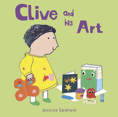 Clive and His Art (All about Clive #4) Cover Image