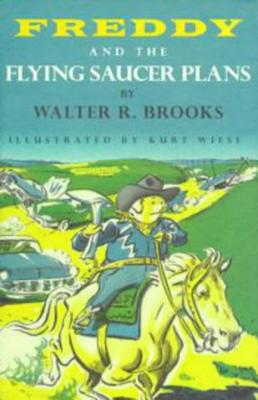 Freddy and the Flying Saucer Plans Cover Image