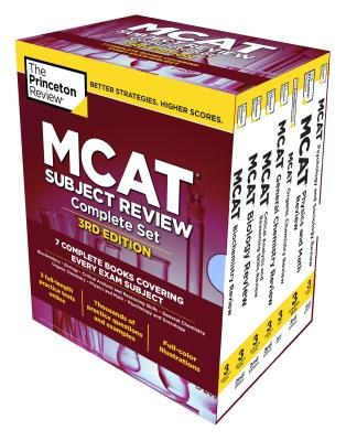 The Princeton Review MCAT Subject Review Complete Box Set, 3rd Edition: 7 Complete Books + 3 Online Practice Tests (Graduate School Test Preparation) Cover Image