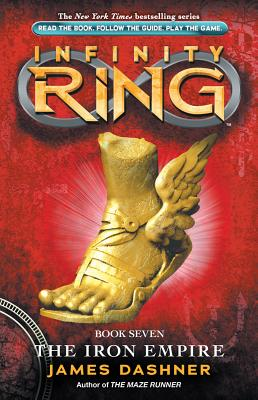 The Iron Empire (Infinity Ring, Book 7) Cover Image