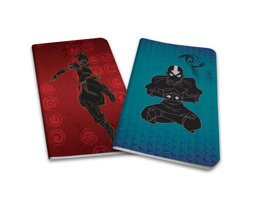 Avatar The Last Airbender / Legend of Korra Notebook Collection (Set of 2) Cover Image