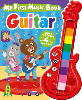 My First Music Book: Guitar (Sound Book) Cover Image