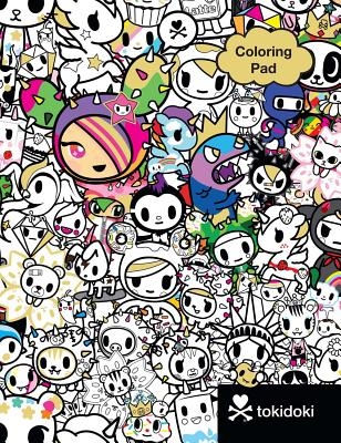 Cover for Tokidoki Coloring Pad