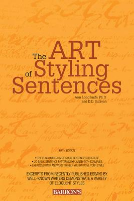 Art of Styling Sentences Cover Image