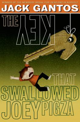 The Key That Swallowed Joey Pigza Cover