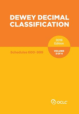 Dewey Decimal Classification, January 2019, Volume 3 of 4 Cover Image