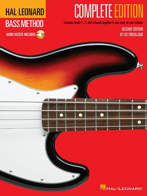 Hal Leonard Bass Method - Complete Edition: Books 1, 2 and 3 Bound Together in One Easy-To-Use Volume! [With Compact Disc] Cover Image