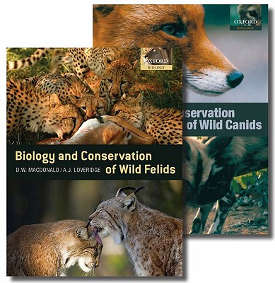 Biology and Conservation of Wild Carnivores: The Canids and the Felids Two-Volume Set Cover Image