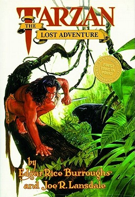 Edgar Rice Burroughs' Tarzan Cover