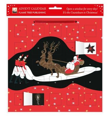 Cover for Entrance of Santa Claus Advent Calendar