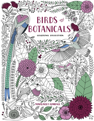 Birds and Botanicals Coloring Collection Cover Image