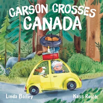 Cover for Carson Crosses Canada