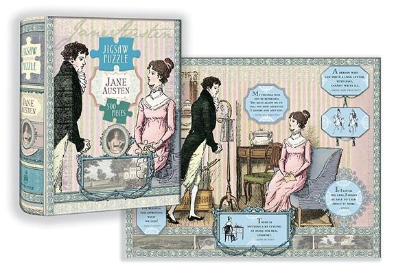 Jane Austen Puzzle Cover