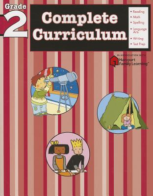Complete Curriculum, Grade 2 (Flash Kids Harcourt Family Learning) Cover Image