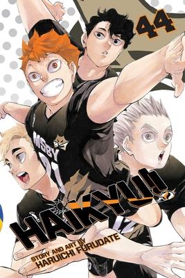 Cover for Haikyu!!, Vol. 44