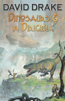 Cover for Dinosaurs and a Dirigible, 1 (Baen #1)