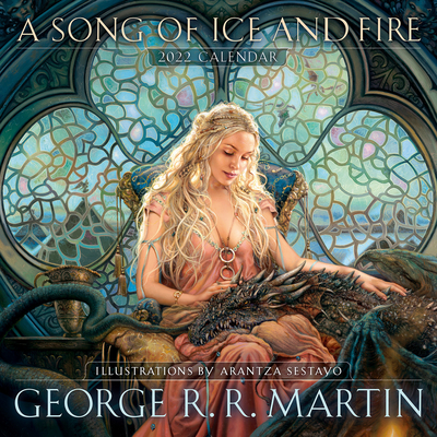 A Song of Ice and Fire 2022 Calendar Cover Image