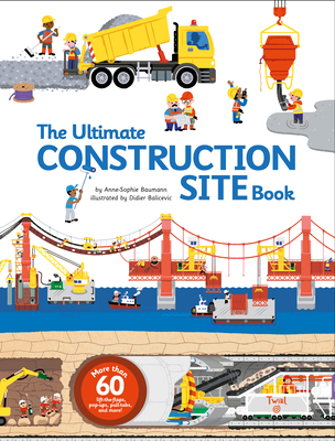 The Ultimate Construction Site Book (Ultimate Book #2) Cover Image