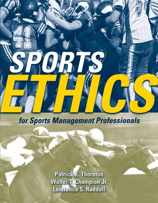 Sports Ethics for Sports Management Professionals Cover Image