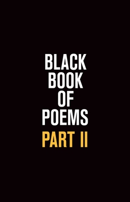 Black Book of Poems II Cover Image