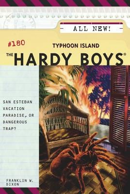 Typhoon Island (Hardy Boys #180) Cover Image