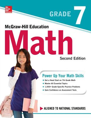 McGraw-Hill Education Math Grade 7, Second Edition Cover Image