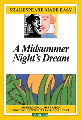 Midsummer Night's Dream (Shakespeare Made Easy) Cover Image