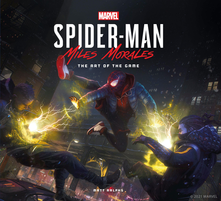 Marvel's Spider-Man: Miles Morales  The Art of the Game Cover Image