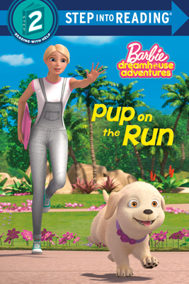 Pup on the Run (Barbie) (Step into Reading) Cover Image
