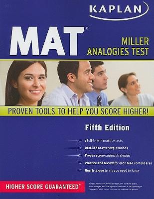 Kaplan MAT Cover Image