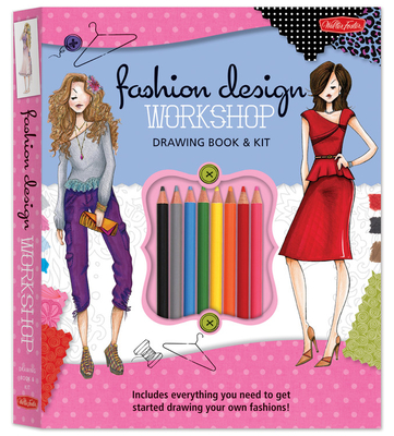 Fashion Design Workshop Drawing Book & Kit Cover