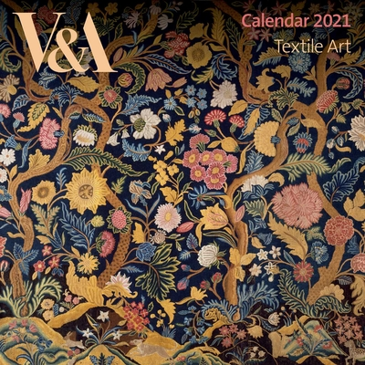 V&A Textile Art Mini Wall calendar 2021 (Art Calendar) Cover Image