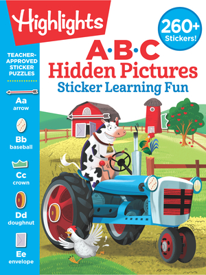 ABC Hidden Pictures Sticker Learning Fun (Highlights Hidden Pictures Sticker Learning) Cover Image