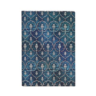 Paperblanks Blue Velvet MIDI Lined Cover Image