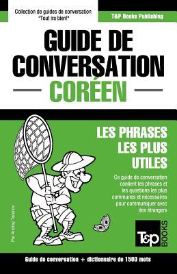 Guide de conversation Français-Coréen et dictionnaire concis de 1500 mots (French Collection #92) Cover Image