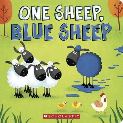 One Sheep, Blue Sheep Cover