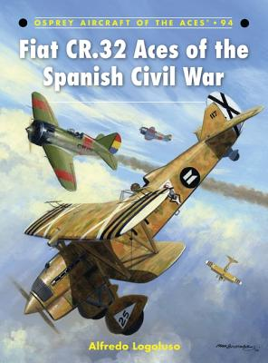 Fiat CR.32 Aces of the Spanish Civil War Cover Image