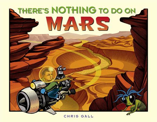 There's Nothing to Do on Mars Cover